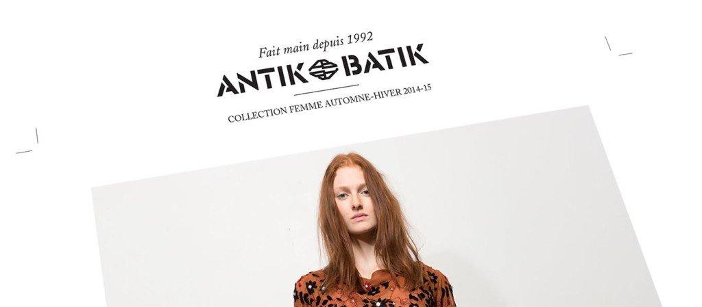 création catalogue Antik Batik
