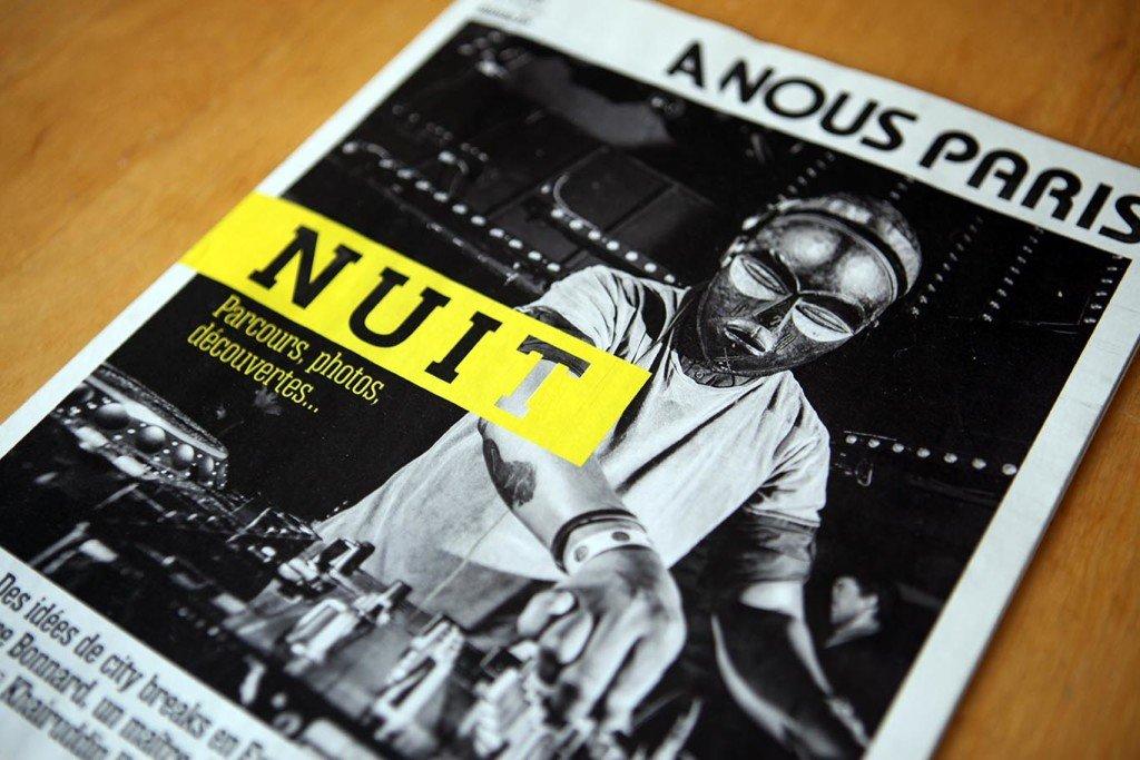 création magazine A Nous Paris