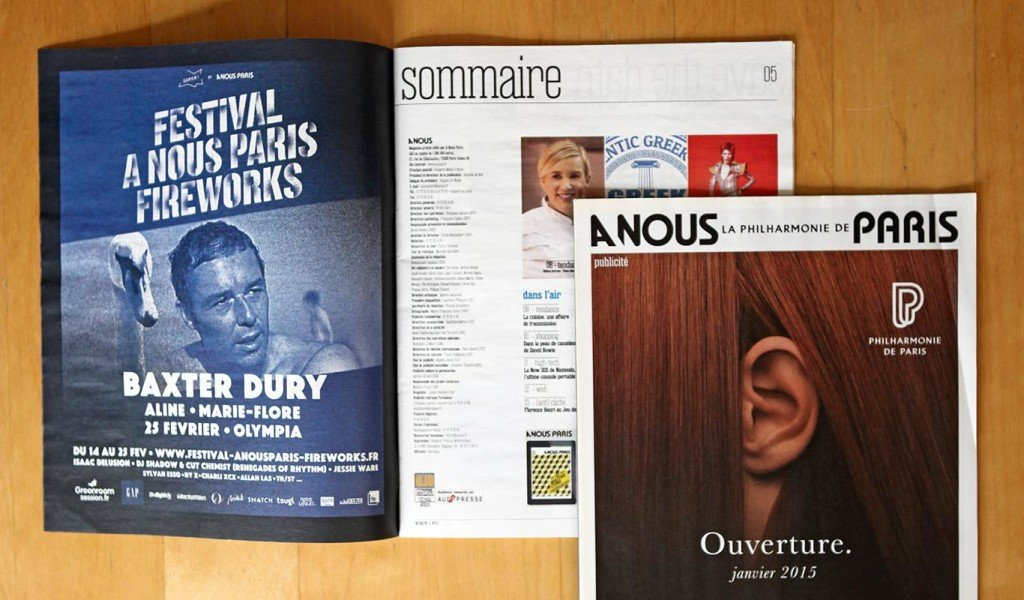 création magazine Graphiste freelance