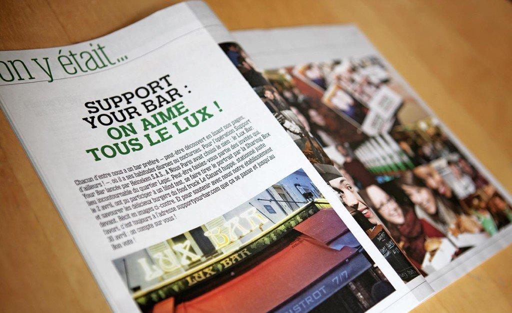 création magazine Graphiste communication
