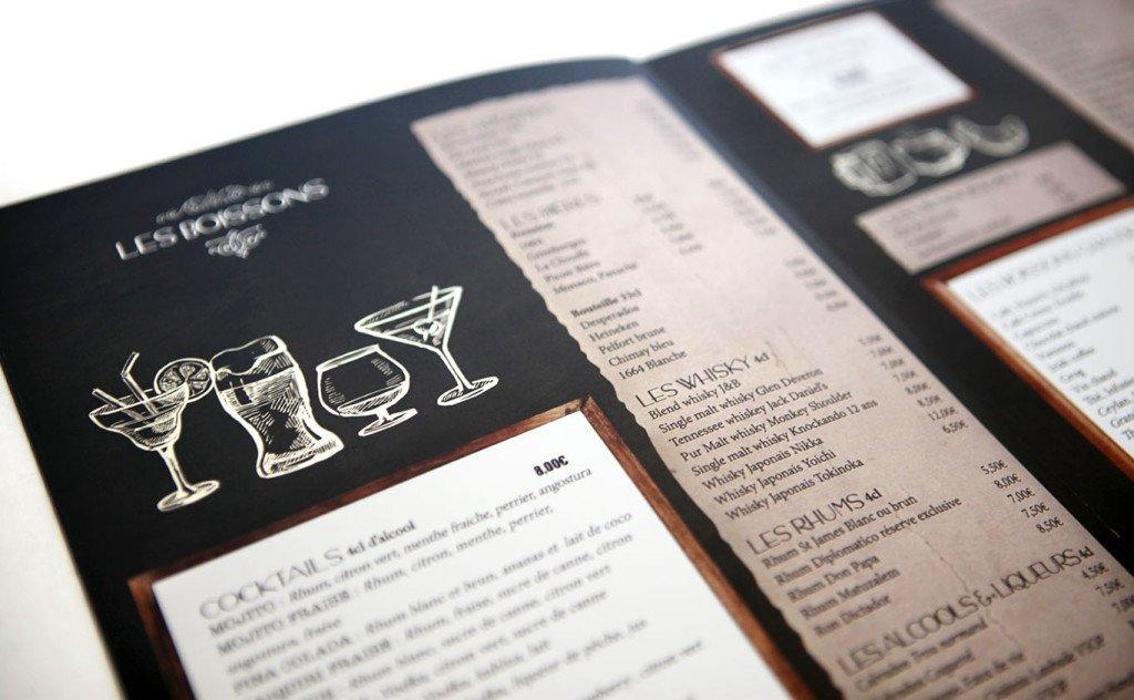 changer menu restaurant graphiste
