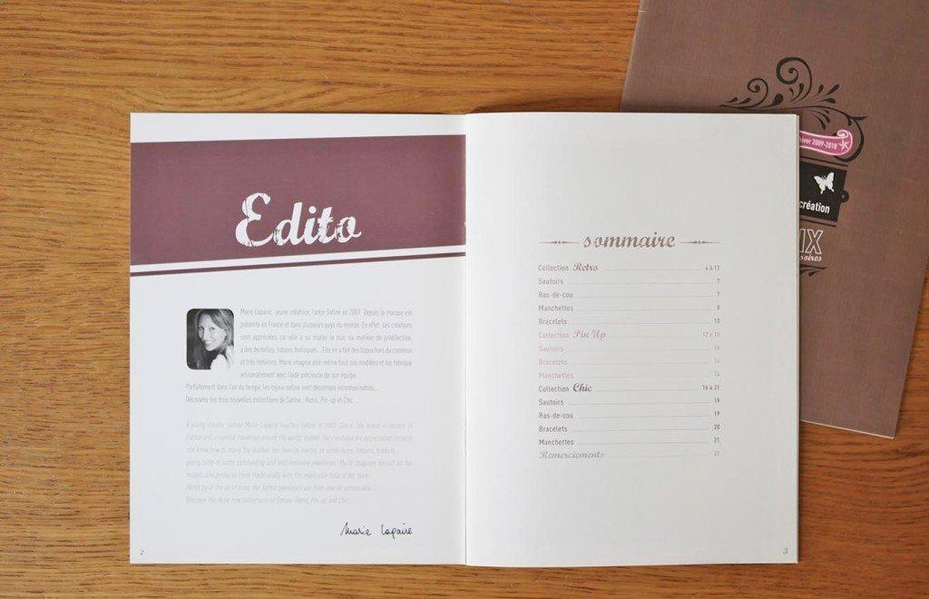 graphiste freelance créer catalogue produit